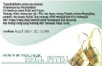 Makna Hikmah Idul Fitri