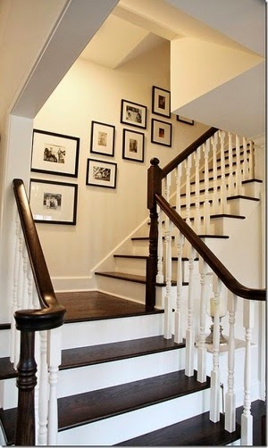 creative staircase wall