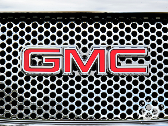 Lighted GMC Emblem http://mycarlogos.blogspot.com/2012/12/gmc-logo.html