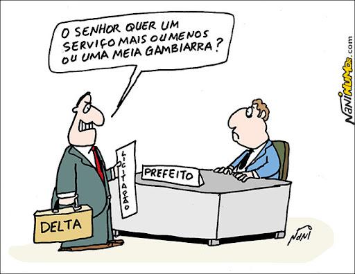 Delta acusada de serviços de má qualidade e abandonar obras
