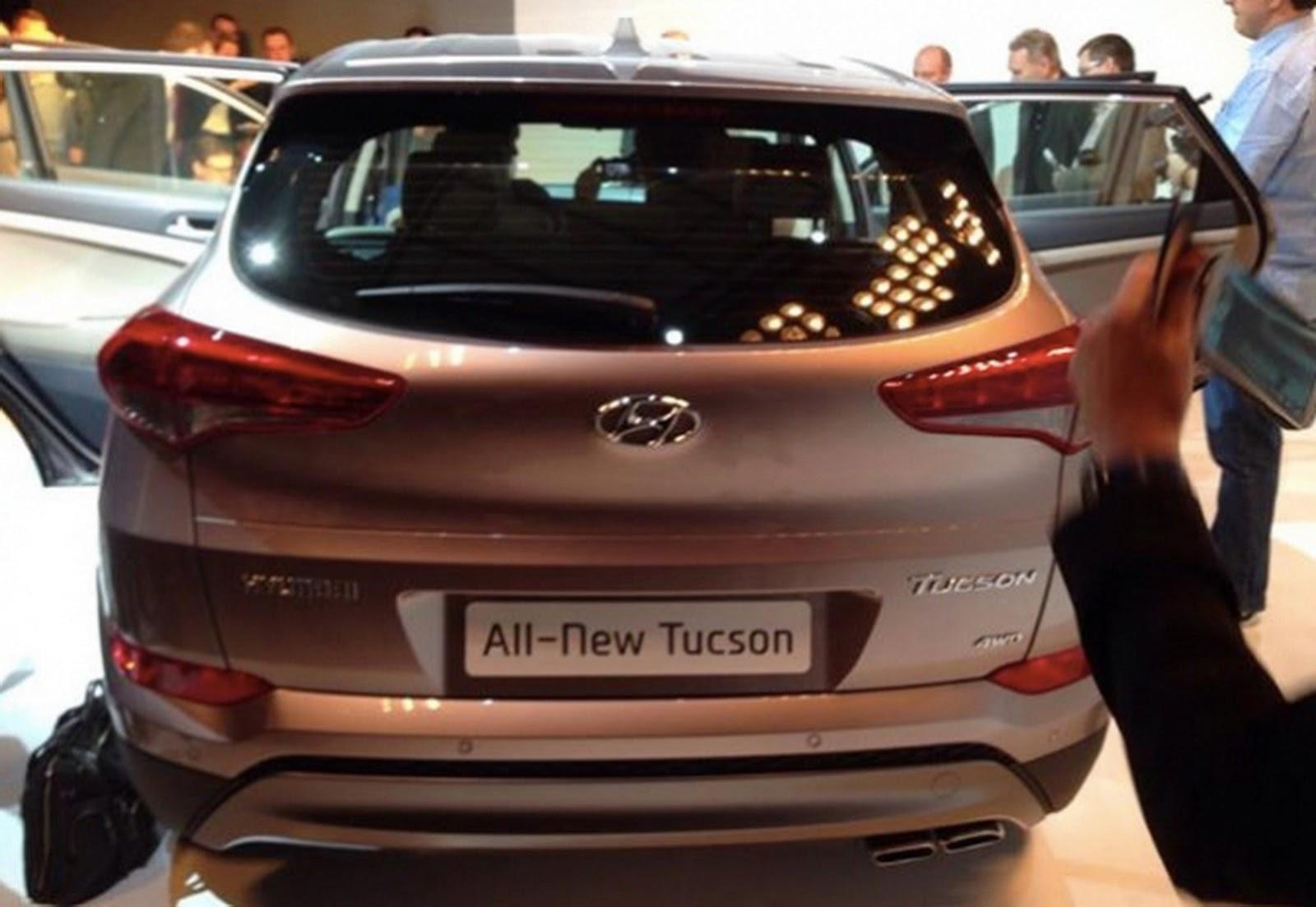 Novo Hyundai Tucson 2016 - traseiria