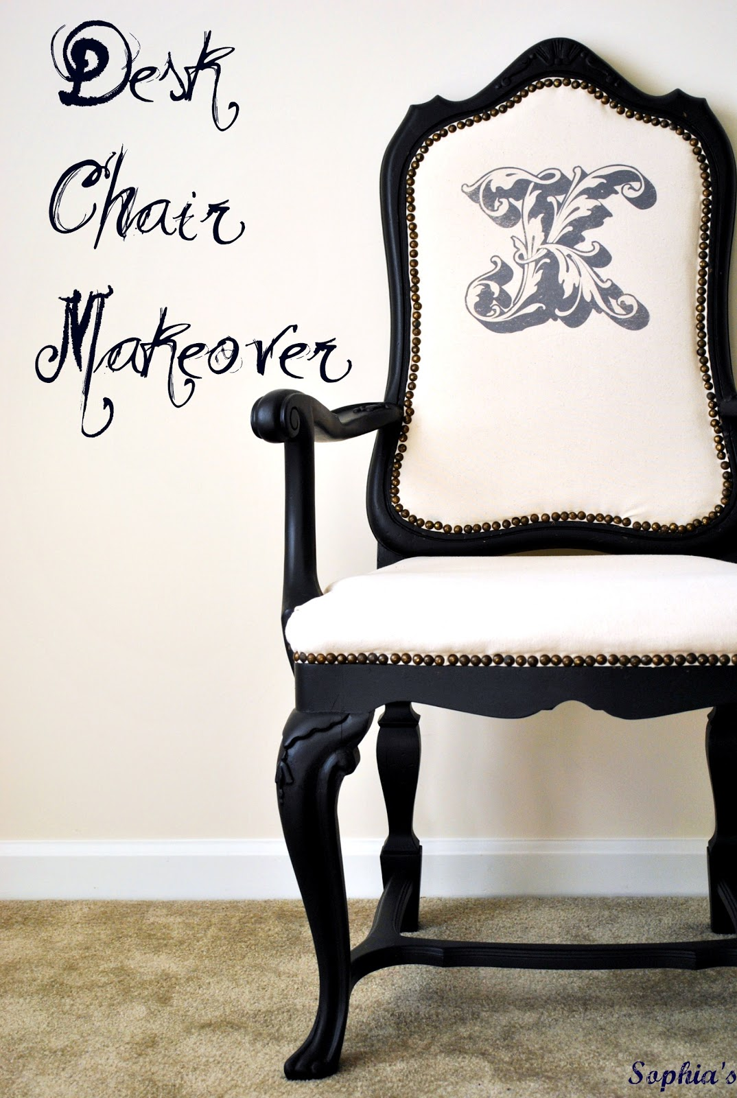 Desk Chair Makeover