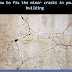 How to fix the minor cracks in your building