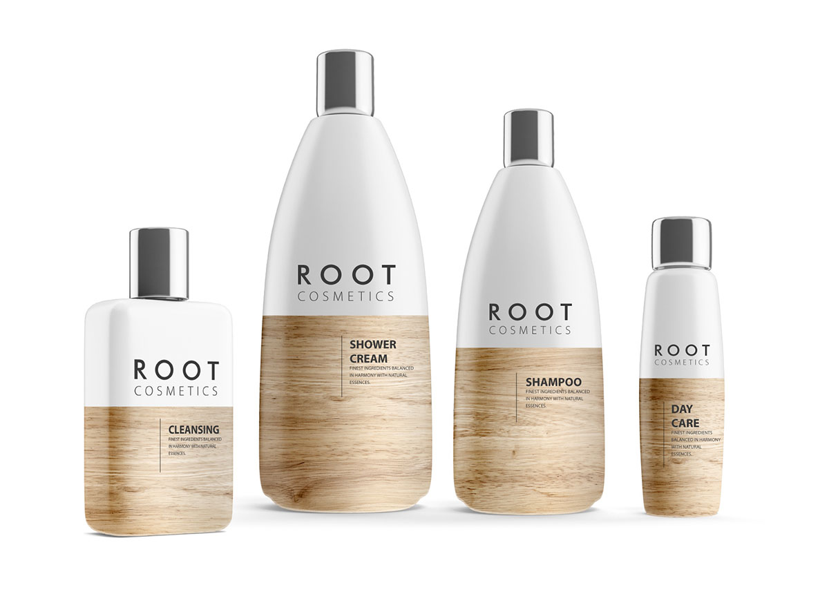Root Cosmetics On Packaging Of The World Creative