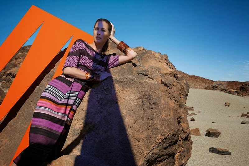Christy Turlington Stars in Missoni Spring/Summer 2014 Campaign