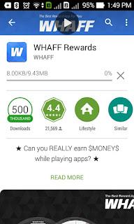 install Whaff