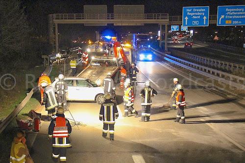 Schwerst Verletzte Nach Unfall Personen über Eine Stunde Im Pkw