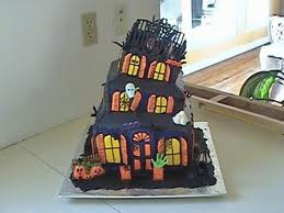 Halloween Birthday Cakes Image