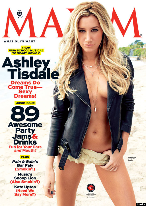 Ashley Tisdale For Maim May