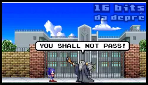Humor - Sonic e Mario se atrasam para o Enem 2016