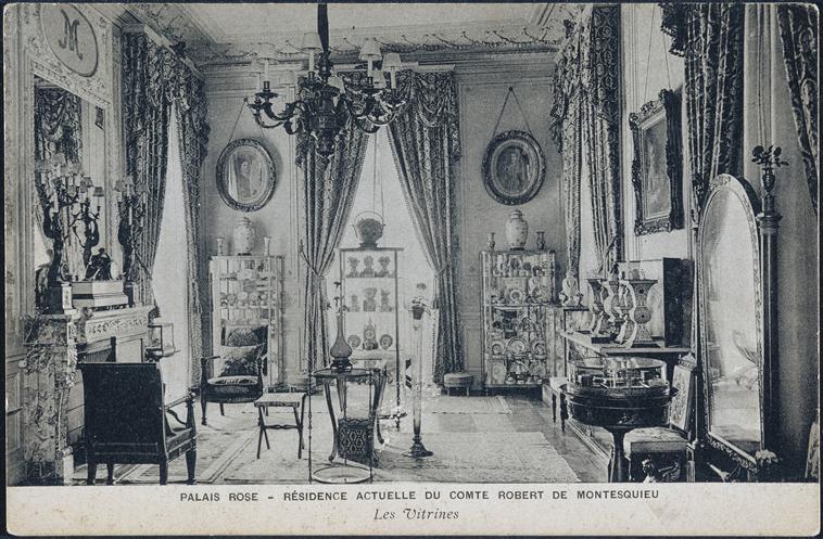 le palais rose de robert de montesquiou. Black Bedroom Furniture Sets. Home Design Ideas