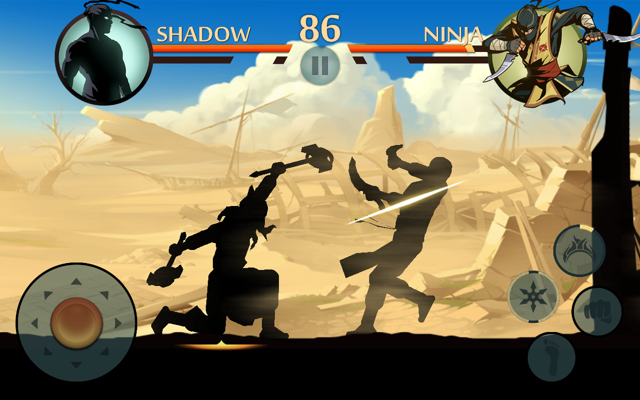 Download Mod Game Shadow Fight 2 [Full Nyawa]