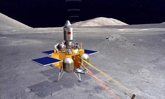 China recogerá muestras lunares automáticamente