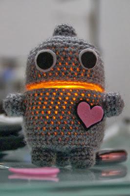 robot a crochet
