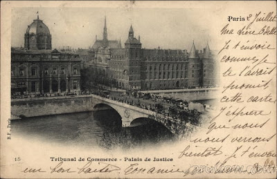 1900 Paris Postcard