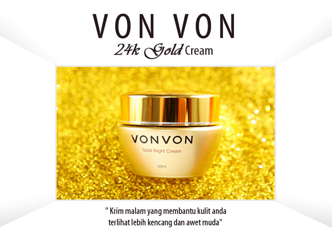 VONVON 24K Gold Night Cream