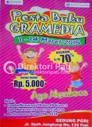 Pesta Pameran Buku Gramedia di Pati