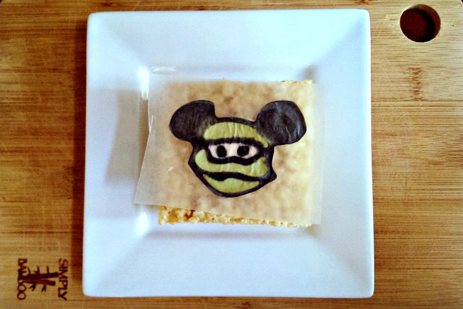 Mickey Mouse rice krispy treats