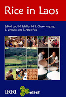 Lao book - rice in laos