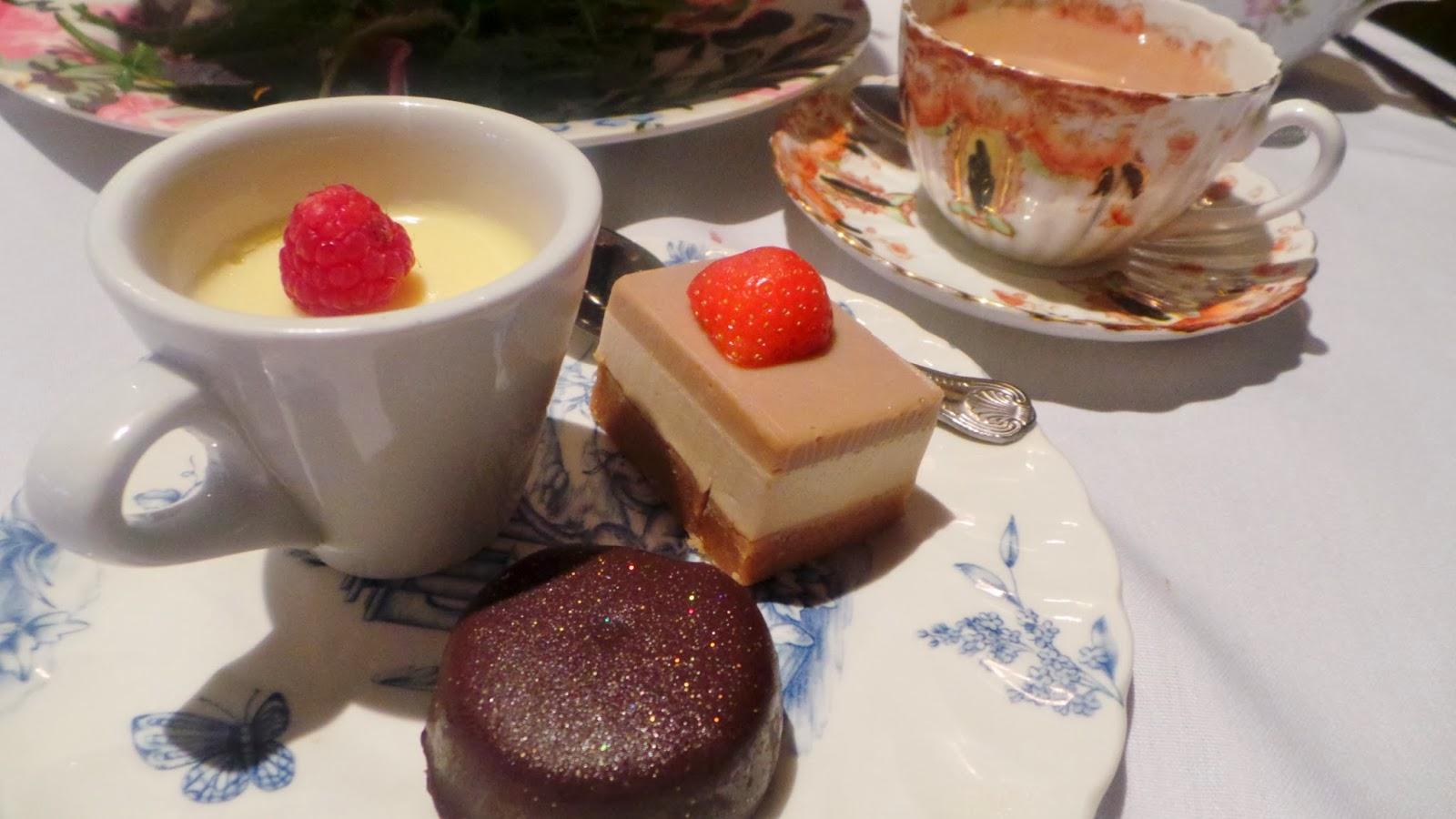 Holdsworth House afternoon tea cakes