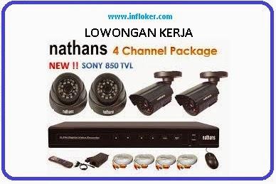 Info Lowongan Kerja 2015 PT Totomas Nathans CCTV