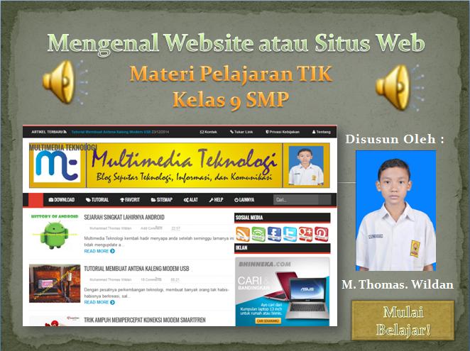 Mengenal Website Atau Situs Web