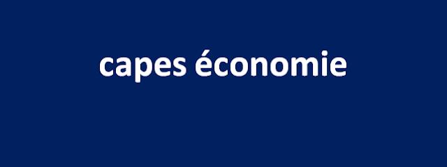 capes économie 2006