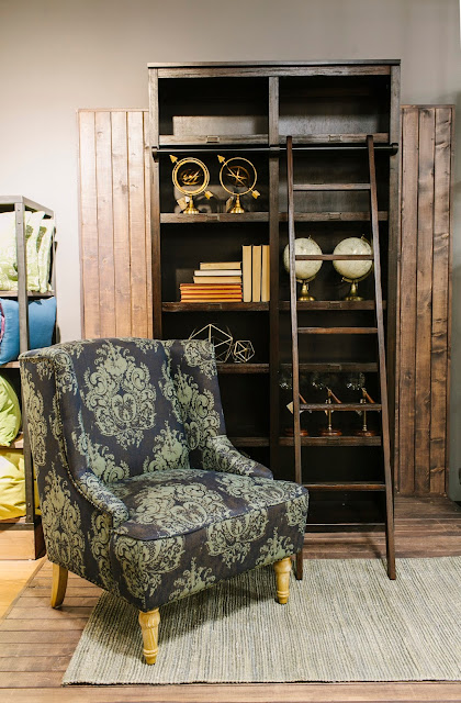Living Room Vignette with Chair at Cost Plus World Market