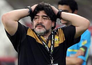 Maradona fue operado en un hospital de Dubái