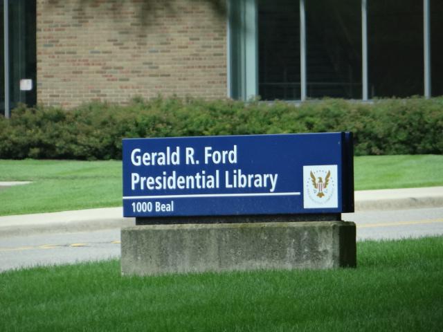 Gerald R Ford Presidential Library In Ann Arbor Michigan