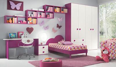 dormitorio mariposas niñas