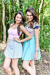 Aline e Gabinha