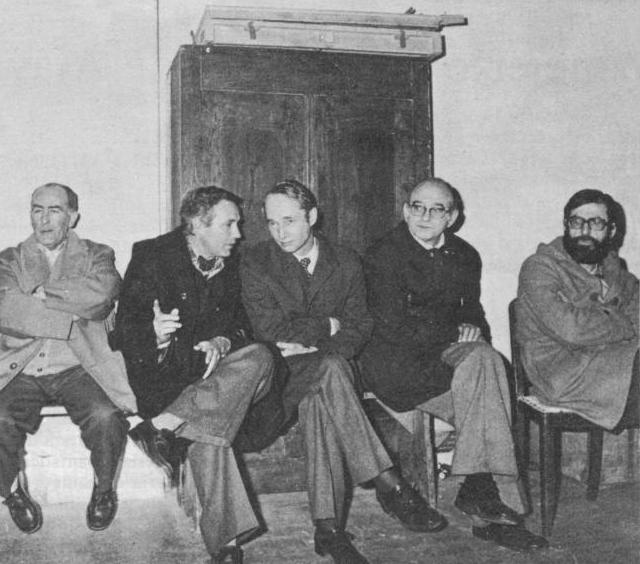 Don Carlos Hugo a favor de los presos vascos en 1977