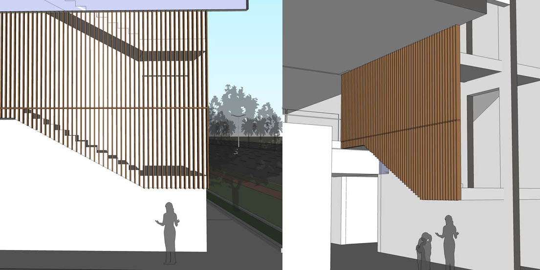 revit wood screen 1