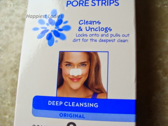 Biore deep cleansing original strips