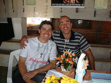 Daniel e o seminarista Silvio
