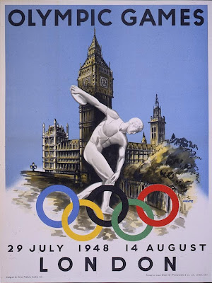 1948 London Olympics Poster