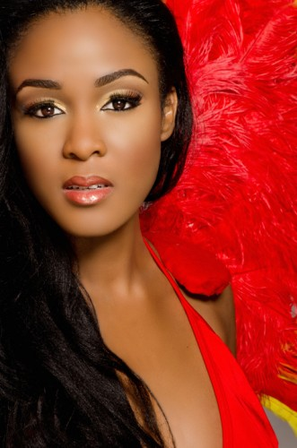 Miss World Bahamas 2013 is De'andra Bannister