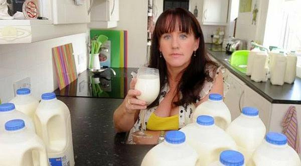 Wanita Ini Minum Susu 10 Liter per Hari Wanita%2BIni%2BMinum%2BSusu%2B10%2BLiter%2Bper%2BHari