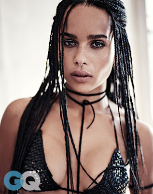 Zoe Kravitz hot GQ magazine June 2015 photo shoot by Steven Pan