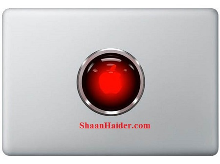 Hal 9000 MacBook Stickers and Decals
