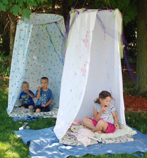 Improvisa un campamento para ni os - Actividades para ninos al aire libre ...