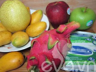 Cách làm món Chè hoa quả