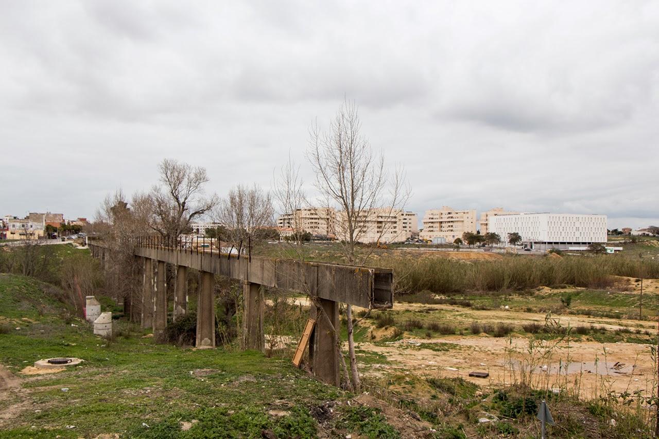 Entorno a jerez el acueducto de la canaleja una peque a for Hormigon impreso jerez