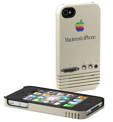 Protector o funda retro para iPhone 4 Macintosh
