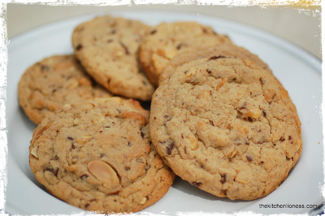 The Kitchen Lioness: Chunky Peanut, Chocolate, and Cinnamon Cookies ...