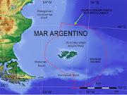. las 200 millas náuticas de las líneas de base costeras de las Malvinas. islas malvinas banco namuncurã¡