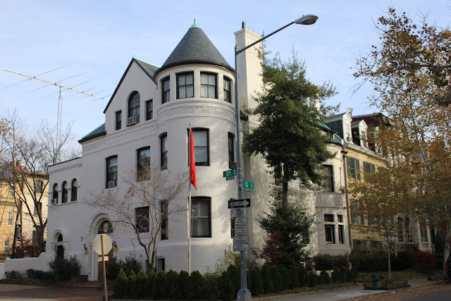 High end residential neighbourhood in Dupont Circle, Washington DC, USA