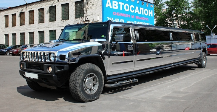 Hummer H2 Limo Chrome Wrap From Russia Latest Automotive News