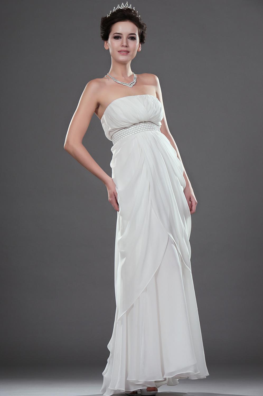 robes de mariage robes de soir e et d coration robe de soir e blanche longue. Black Bedroom Furniture Sets. Home Design Ideas
